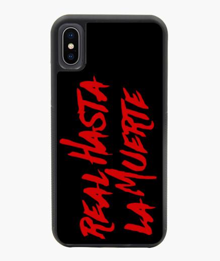Funda iPhone X / XS X/XS Real hasta la muerte
