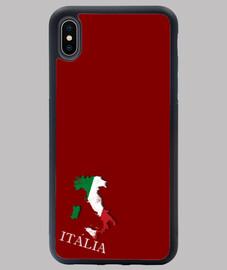 FUNDA ITALIA IPHONE XS MAX MAPA 3D BANDERA NOMBRE