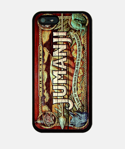 Camiseta Funda Jumanji iPhone 5 / 5s