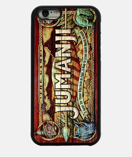 Camiseta Funda Jumanji iPhone 6