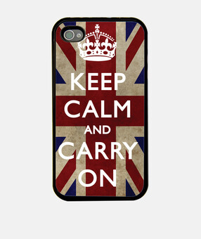 Funda Keep Calm and carry on