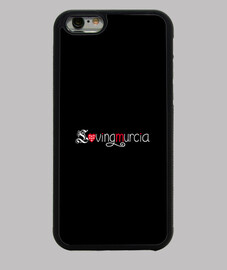 Funda LovingMurcia iPhone 6, negra