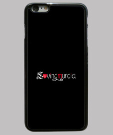 Funda LovingMurcia iPhone 6 plus, negra