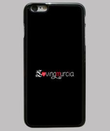Funda LovingMurcia iPhone 6 plus, negra