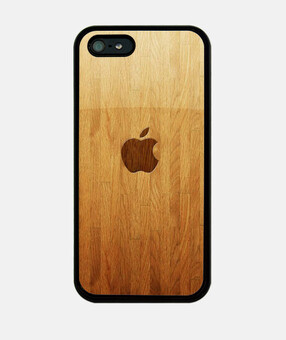 Funda madera Apple