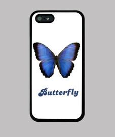 Funda mariposa azul