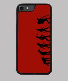 Funda móvil, negra