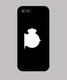Funda móvil negra