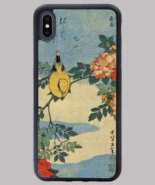 Funda Pájaro lienzo japonés