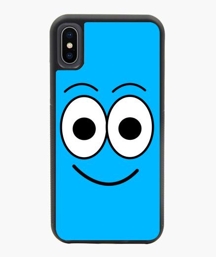 Funda iPhone X / XS Funda para  iPhone de personaje Bombon Azul  de Bombon Cloud