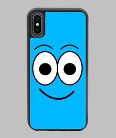 Funda para  iPhone de personaje Bombon Azul  de Bombon Cloud