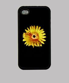 Funda para iPhone 4 / 4S de un girasol