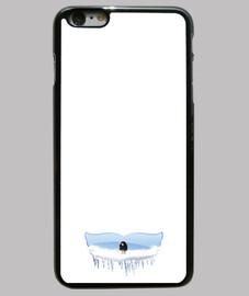 Funda para iPhone 6 Plus o iPhone 6S Plus con diseño Snow Snow Mr Jon
