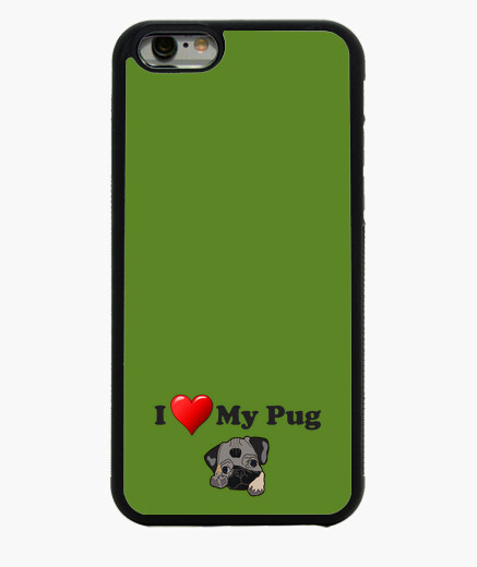 Funda iPhone 6 Funda para movil iPhone 6 I love my pug