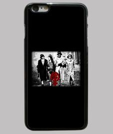 Funda Peaky Women iPhone 6 Plus, negra