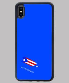 FUNDA PUERTO RICO IPHONE XS MAX AZ MAPA BANDERA NOMBRE