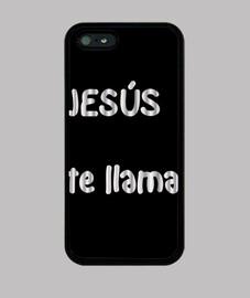 Funda telefono movil. Jesús te llama