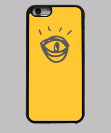 Funda The Eye iPhone 6, amarilla