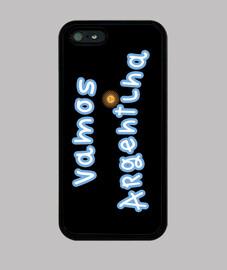 Funda Vamos Argentina para Iphone 5 / 5s