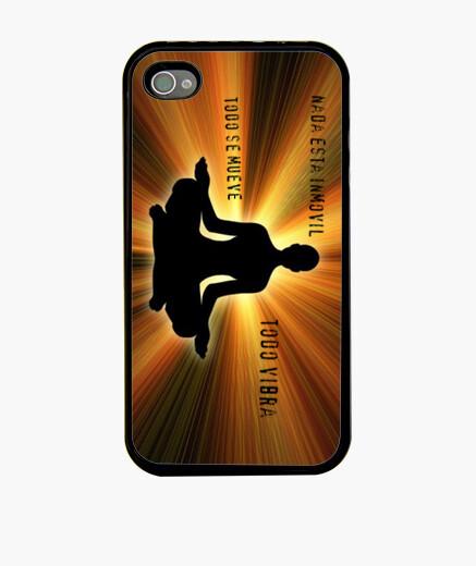 Funda iPhone Funda Yoga rayos de luz