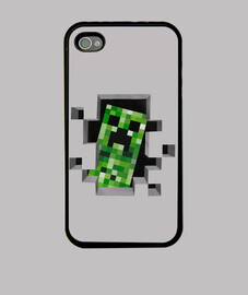Fundas Para iPhone4 /Creeper/J7BIRD