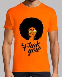 Funk you afro, parodia fuck you