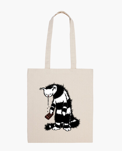 Funny Cat Creature Chocolate Lover bag