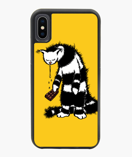 Funny Cat Creature Chocolate Lover iphone...