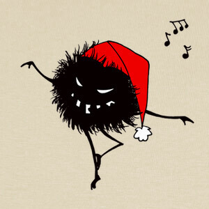 Funny Dancing Evil Christmas Bug T-shirts