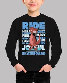 Funny Dinosaur T-Rex Skateboard