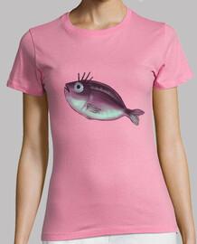 funny fish with fancy eyelashes