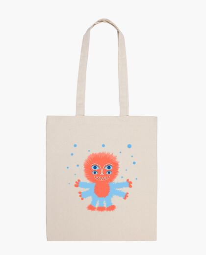 Funny Fluffy Alien Bag