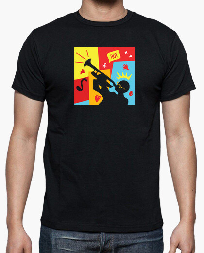 Funny jazz trumpet player t-shirt