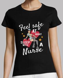 funny retro t-shirt nurse sexy vintage pinup