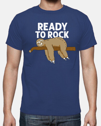 Funny Sloth Sleeping - Ready To Rock