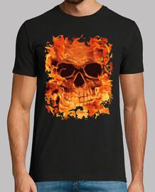fuoco cranio
