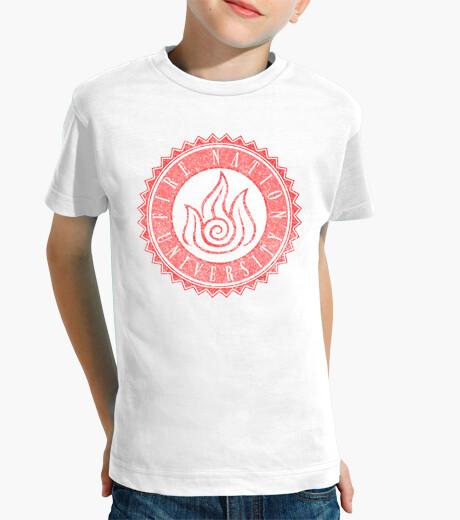 Abbigliamento bambino fuoco nation univeristy