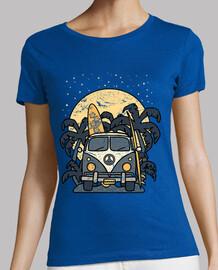 furgoneta abend surfen vintage