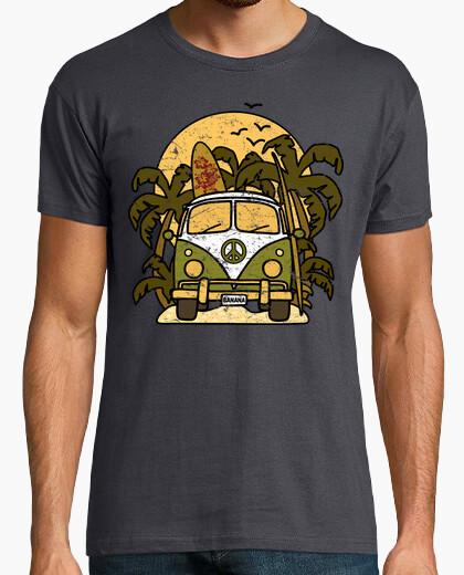 Camiseta Furgoneta Banana Surf Vintage