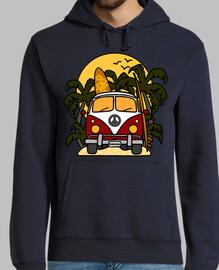furgoneta banane surf