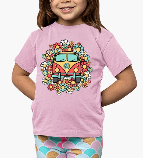 Ropa infantil Furgoneta Be Hippie