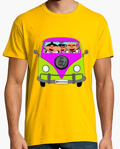 Camiseta furgoneta hippie opa oma ozeliyo