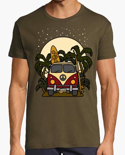 Camiseta Furgoneta Noche de Surf