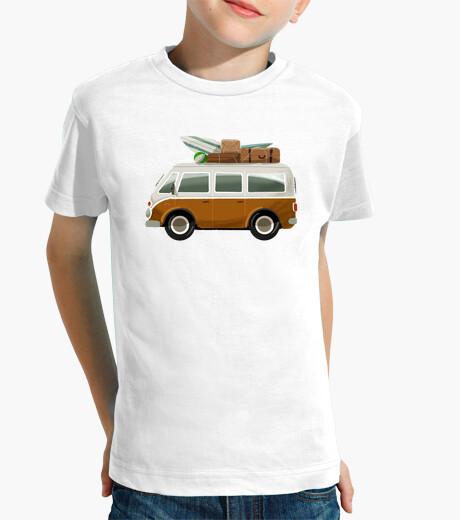 Ropa infantil Furgoneta Surf - camiseta niño/a