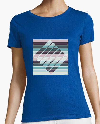 Camiseta Fusión de formas y colores