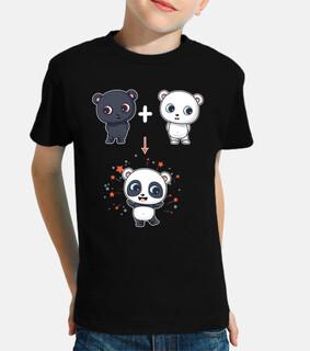 fusión oso y oso polar a oso panda