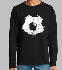 fútbol fútbol balón-deportes-erosionado