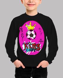 Fútbol king pink