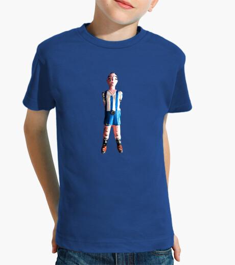 Ropa infantil Futbolin dos piernas azul y blanco