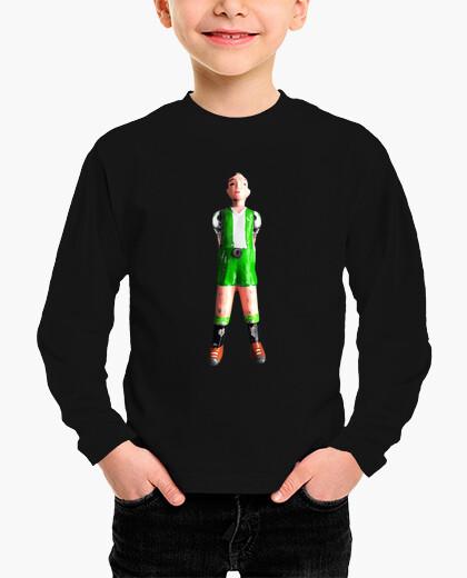 Ropa infantil Futbolin dos piernas verde y blanco